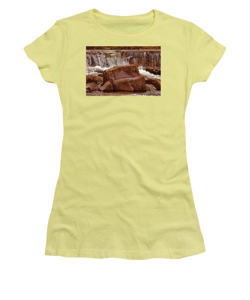 Marble Creek Shut-ins Women's T-Shirt (Junior Cut) by Robert Charity