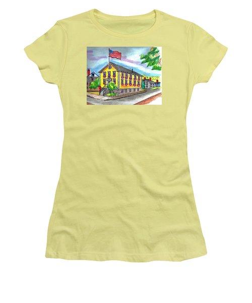 Marblehead Icon Women's T-Shirt (Junior Cut) by Paul Meinerth