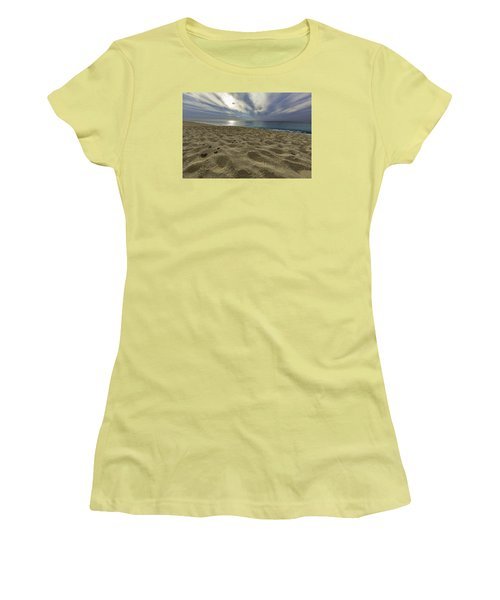 March To The Sea Women's T-Shirt (Athletic Fit)