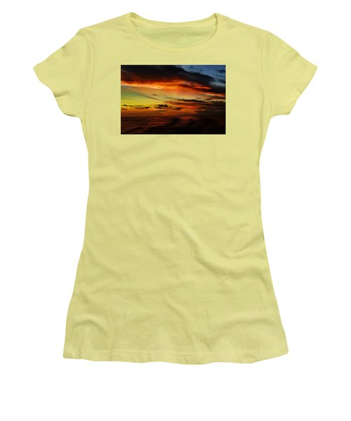 Marco Sunset Rays Women's T-Shirt (Athletic Fit)