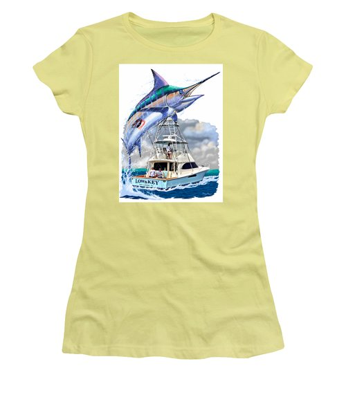 Marlin Commission  Women's T-Shirt (Junior Cut) by Carey Chen