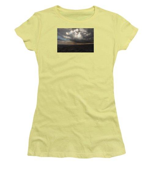 Women's T-Shirt (Junior Cut) featuring the photograph Mars Landscape by Ryan Manuel