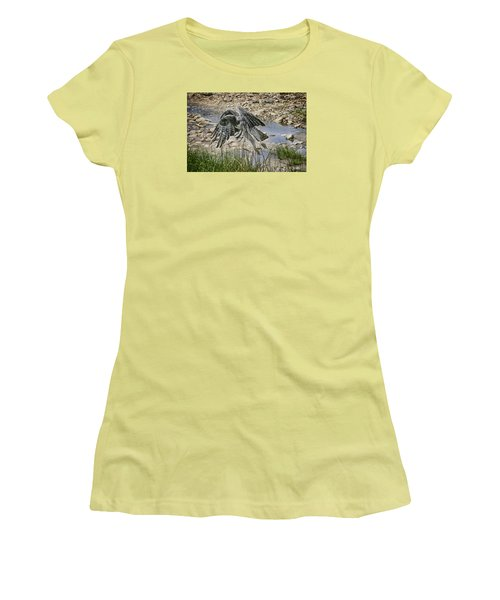 Women's T-Shirt (Junior Cut) featuring the photograph Martial Eagle by Gary Hall