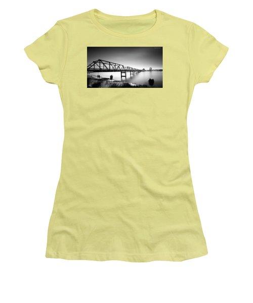 Martin Bridge 6666 Women's T-Shirt (Junior Cut) by Kevin Chippindall
