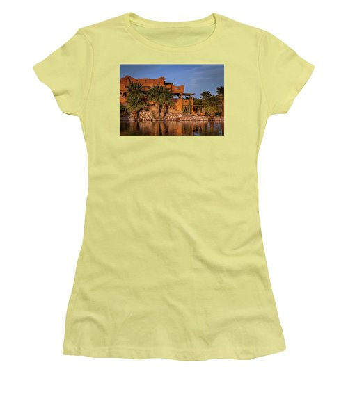 Martinez Lake Women's T-Shirt (Junior Cut) by Martina Thompson