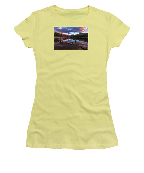 Mary's Reflection Women's T-Shirt (Athletic Fit)