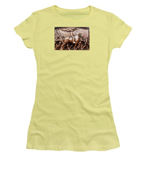 Massachusetts 54th  Women's T-Shirt (Junior Cut)