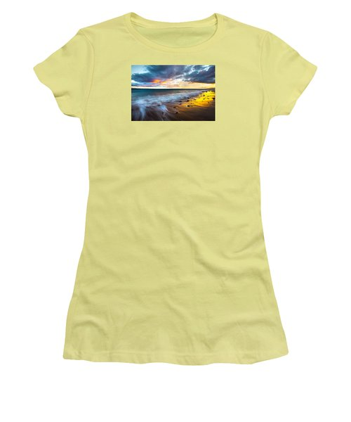 Maui Shores Women's T-Shirt (Junior Cut) by James Roemmling