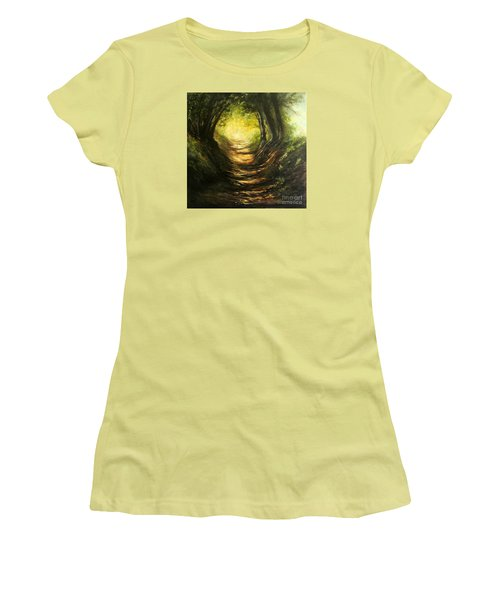 May Your Light Always Shine Women's T-Shirt (Junior Cut) by Valerie Travers