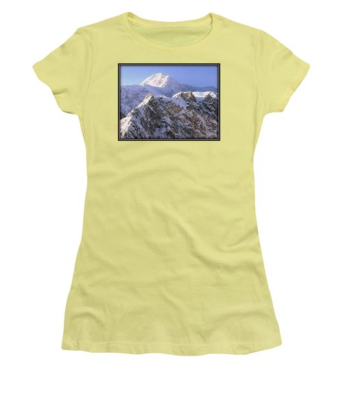 Mc Kinley Peak Women's T-Shirt (Athletic Fit)