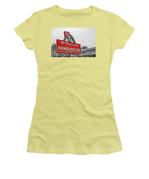 Mcdonald's Museum Women's T-Shirt (Athletic Fit)