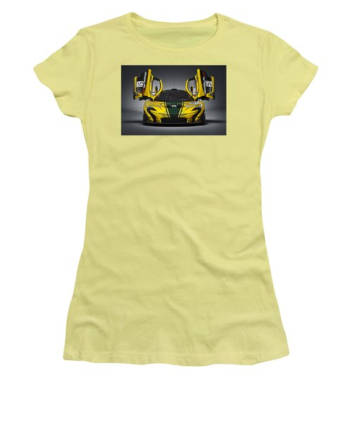 Mclaren P1 Gtr Women's T-Shirt (Athletic Fit)
