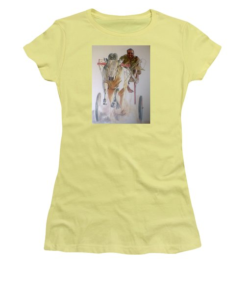 Me And My Partener Women's T-Shirt (Junior Cut) by Khalid Saeed