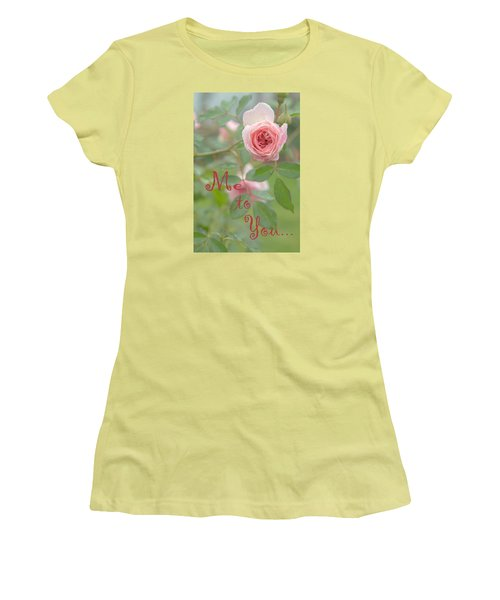 Me To You Women's T-Shirt (Athletic Fit)