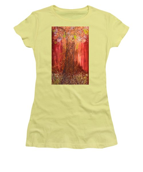 Me Tree Women's T-Shirt (Junior Cut) by Gallery Messina