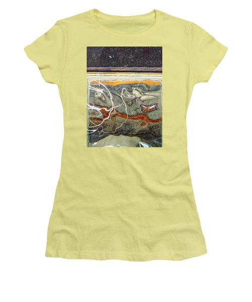 Meandering Molecules Women's T-Shirt (Athletic Fit)