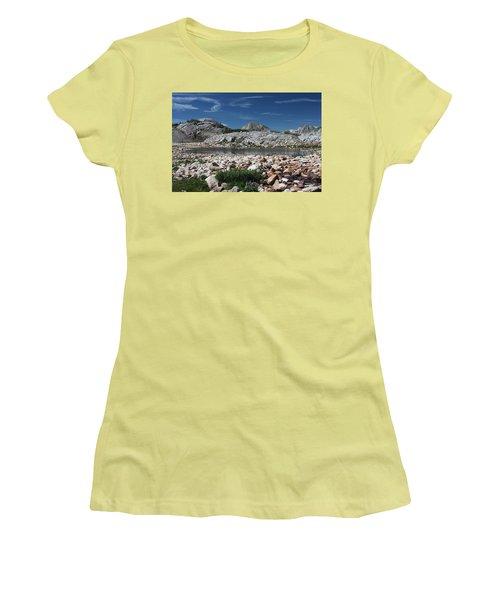 Medicine Bow Vista Women's T-Shirt (Athletic Fit)