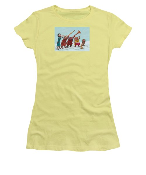 Medieval Merriment Women's T-Shirt (Junior Cut) by Charles Cater