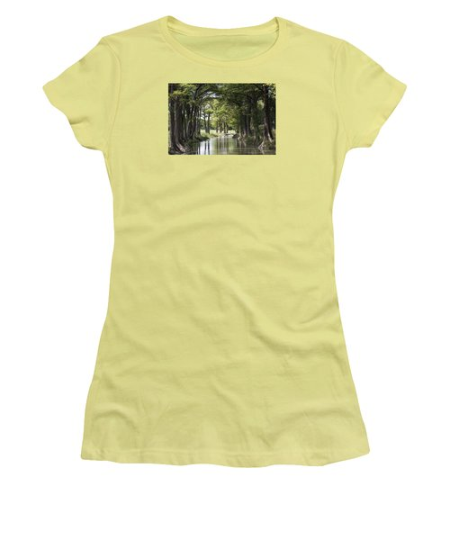 Medina River Women's T-Shirt (Athletic Fit)