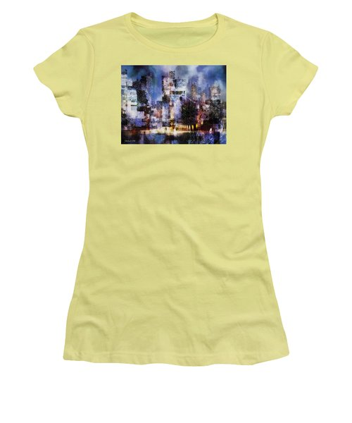Megapolis II Women's T-Shirt (Athletic Fit)