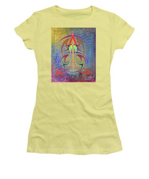 Mellow New Vo Women's T-Shirt (Junior Cut) by Alan Johnson
