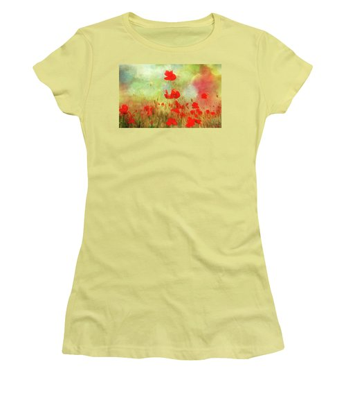 Melody Of Summer Women's T-Shirt (Athletic Fit)