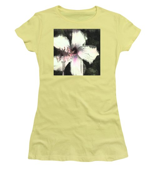 Melting Hibiscus Women's T-Shirt (Athletic Fit)