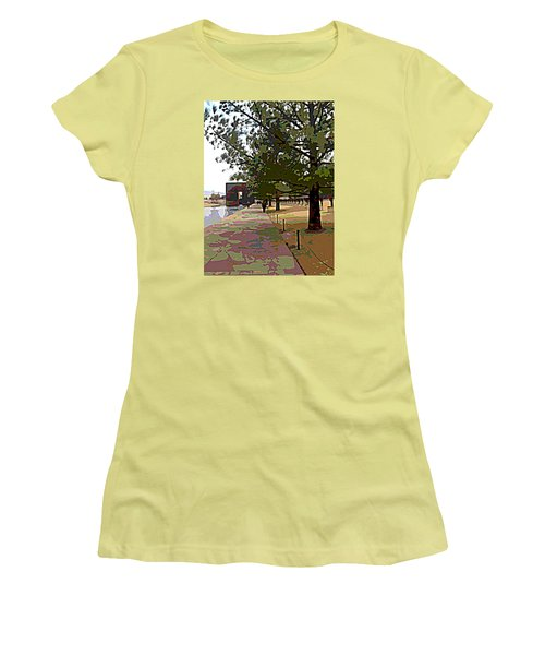 Memorial Women's T-Shirt (Athletic Fit)