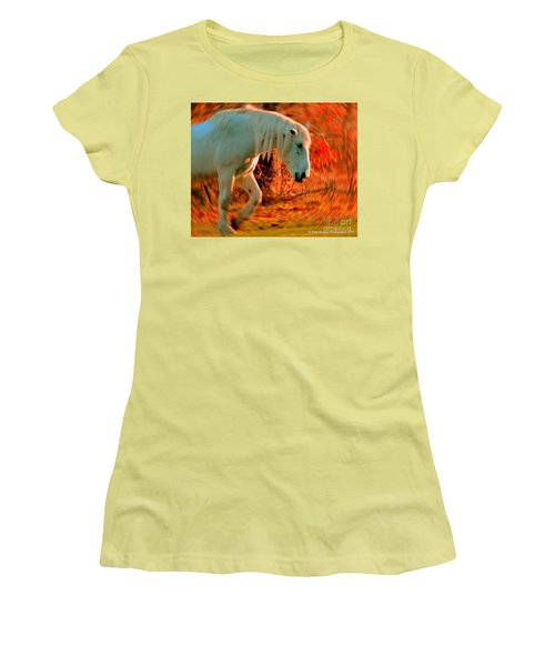 Memories At Sunset Women's T-Shirt (Athletic Fit)