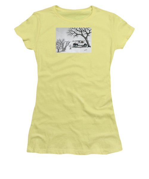Memories For Sale Women's T-Shirt (Junior Cut) by Jack G Brauer