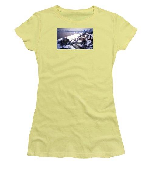 Memphis View From My Penthouse Women's T-Shirt (Junior Cut) by Belinda Lee