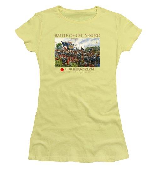 Men Of Brooklyn Women's T-Shirt (Athletic Fit)