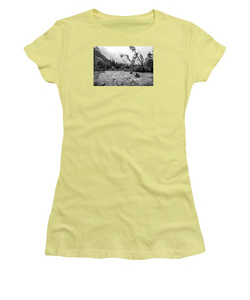 Merced River Women's T-Shirt (Athletic Fit)
