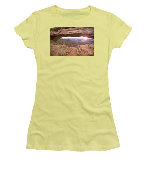 Mesa Arch Women's T-Shirt (Athletic Fit)
