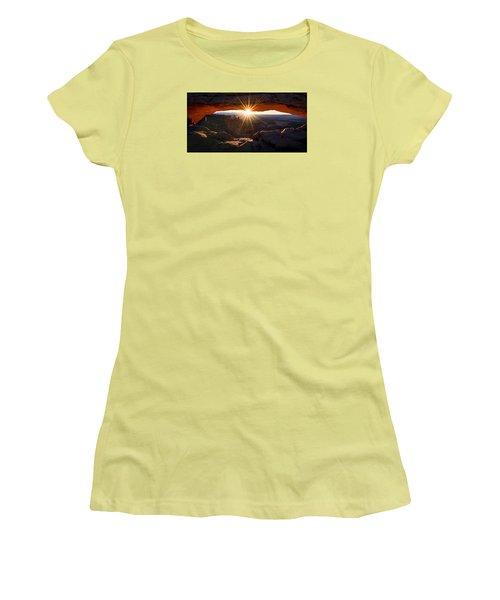 Mesa Glow Women's T-Shirt (Junior Cut) by Chad Dutson
