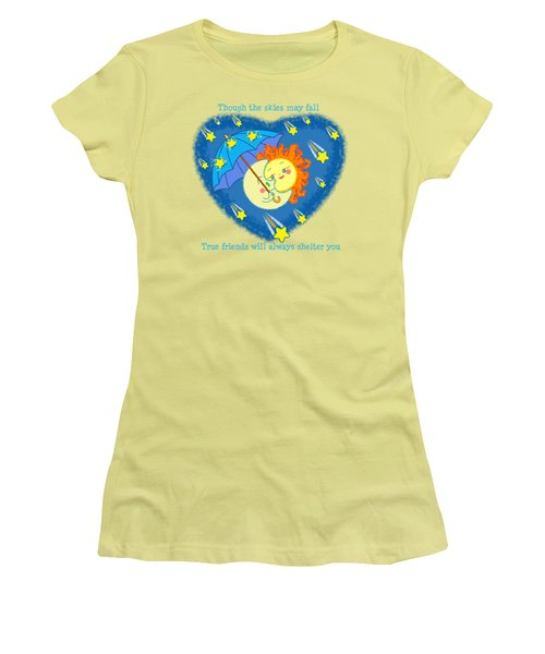 Meteor Shower 2 Women's T-Shirt (Athletic Fit)