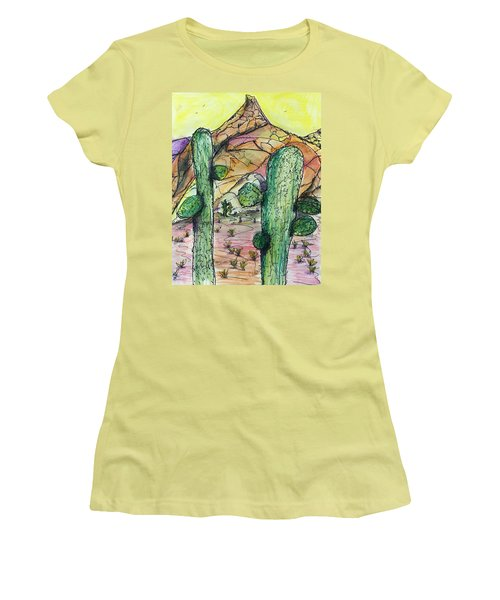 Mexican Desert Women's T-Shirt (Athletic Fit)
