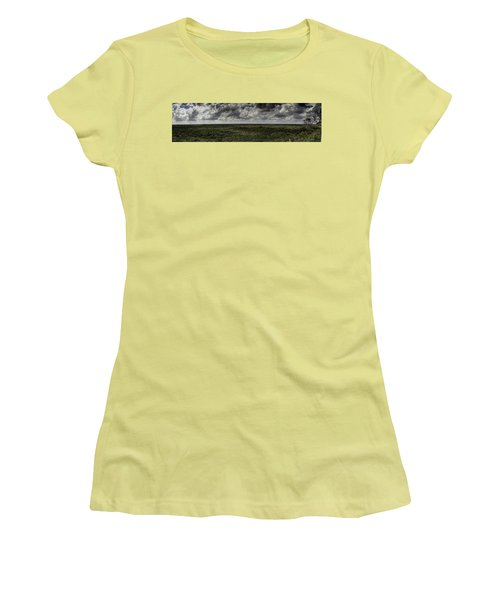 Women's T-Shirt (Junior Cut) featuring the photograph Mexican Jungle Panoramic by Jason Moynihan