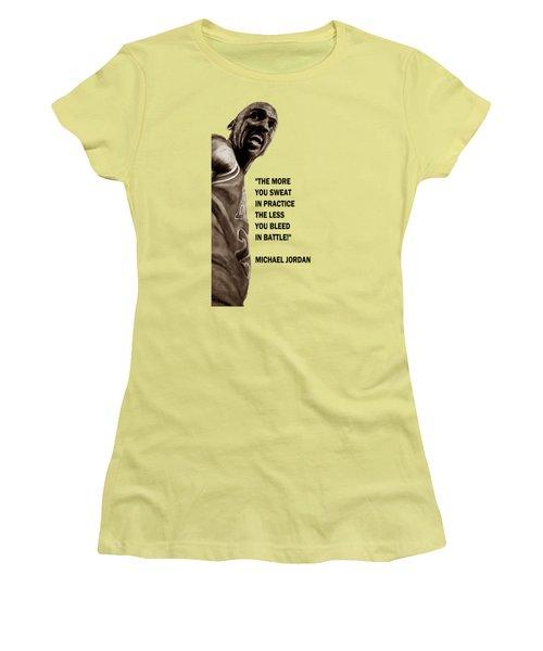 Michael Jordan - Practice Women's T-Shirt (Athletic Fit)