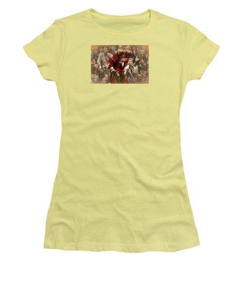 Michael Jordan The Flu Game Women's T-Shirt (Athletic Fit)