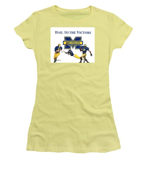 Michigan Heismans Women's T-Shirt (Athletic Fit)