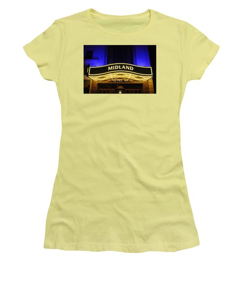 Midland Theater Women's T-Shirt (Athletic Fit)
