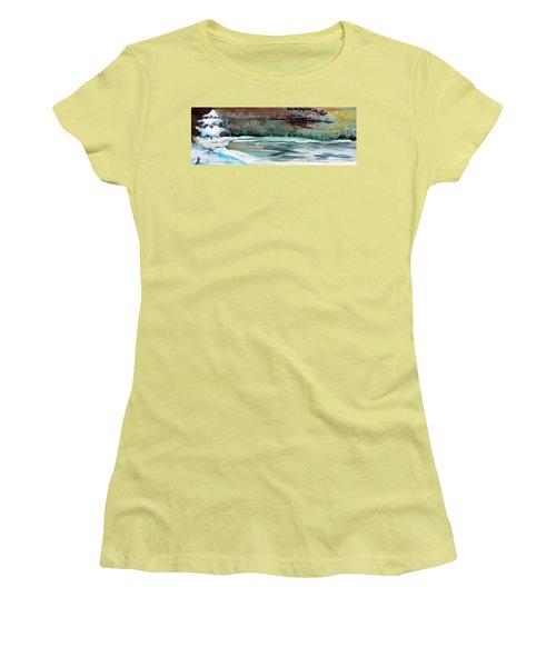 Midnight Rider Women's T-Shirt (Junior Cut) by Mindy Newman