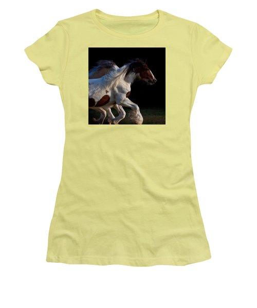 Midnight Run Women's T-Shirt (Junior Cut) by Sharon Jones