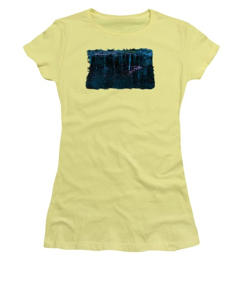 Midnight Spring Women's T-Shirt (Athletic Fit)