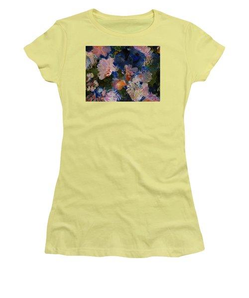 Midnight Summer's Dream Women's T-Shirt (Junior Cut) by Nancy Kane Chapman