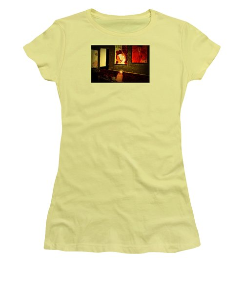 Midnight With Pablo Women's T-Shirt (Junior Cut) by Bill OConnor