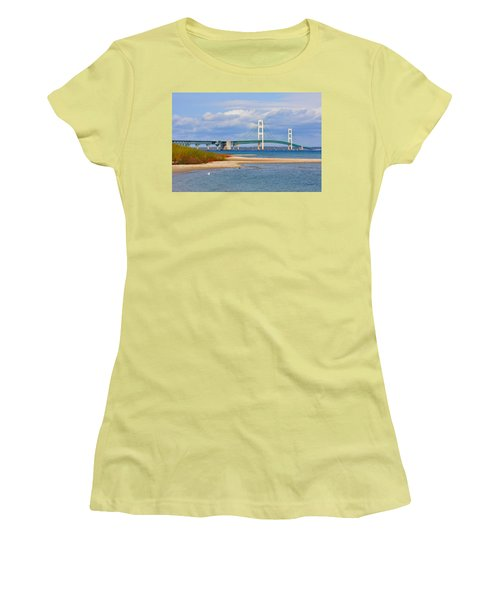 Mighty Mac In October Women's T-Shirt (Athletic Fit)