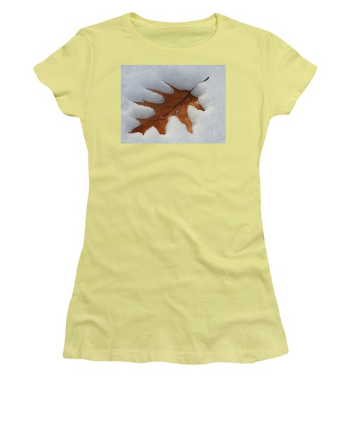Mighty Oak Women's T-Shirt (Junior Cut) by Betty-Anne McDonald