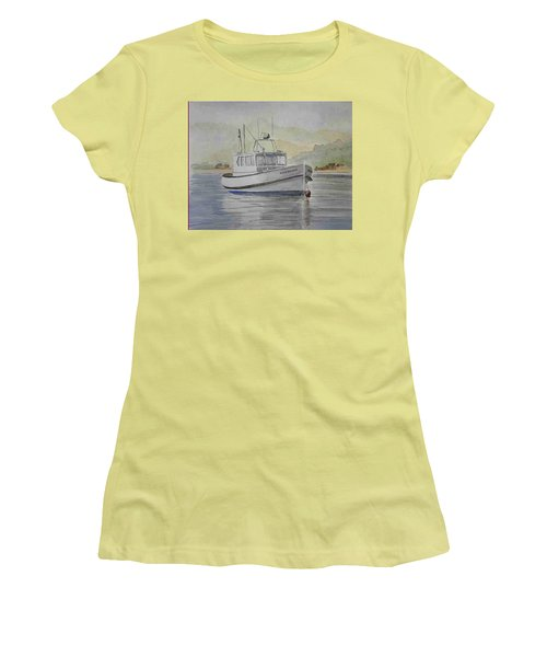 Milkshake Boat Women's T-Shirt (Athletic Fit)